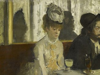 NGV Edgar Degas, In a cafe The Absinthe drinker