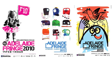 Adelaide Fringe Artwork editorial