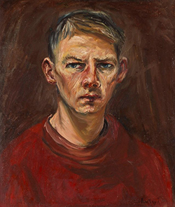 Arthur Boyd. Self Portrait 1945-46