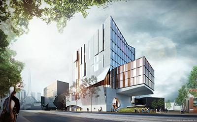 Artist Impression of new Melbourne Conservatorium