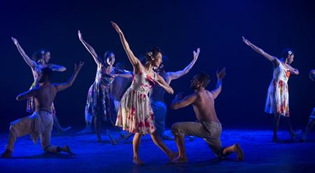 Bangarra Dance Theatre Lore (I.B.I.S) photo by Lisa Tomasetti