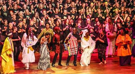 Boite Millennium Chorus