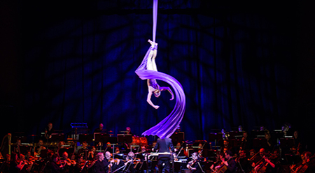 Cirque de la Symphonie photo by Daniel Aulsebrook