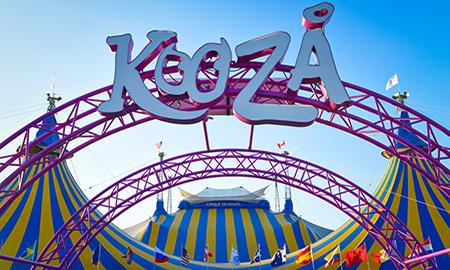 Cirque du Soleil Big Top Kooza