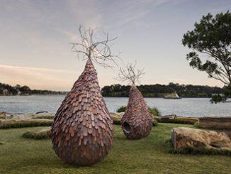 Sculpture at Barangaroo, Margarita Sampson, The Grove 2014 photo by M Schofield