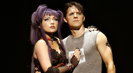 WWRY Erin Clare and Gareth Keegan star in We Will Rock You - photo by Jeff Busby