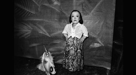 Australian Life 2016 Emma J Hawkins and Unicorn photo by Aaron Bradbrook
