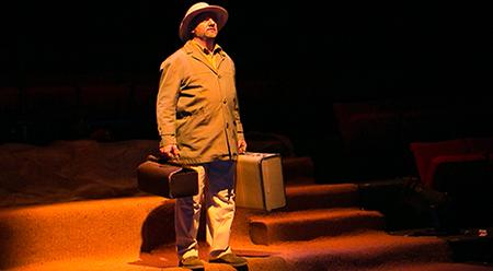 Street Theatre The Faithful Servant PJ Williams.