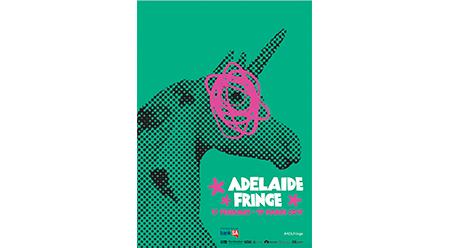 2017 Adelaide Fringe Poster by Jennifer Rimbault