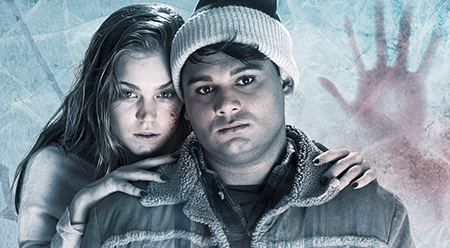 BSSTC Let The Right One In with actors Sophia Forrest and Ian Michael - photo by Robert Frith