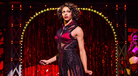 Callum Francis stars as Lola in Kinky Boots - photo by Matthew Murphy