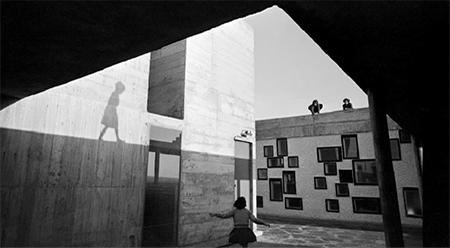 Lucien Hervé Unité d'Habitation, Nantes-Rezé, France, Le Corbusier architect, 1954