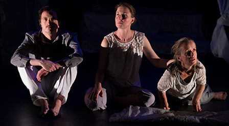 Weave Movement Theatre White Day Dream - photo by Paul Dunn