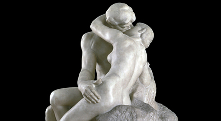 Auguste Rodin, The Kiss, 1901-4 Tate London