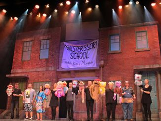 Prince Moo Avenue Q The Musical - photo by Nicole Riseley