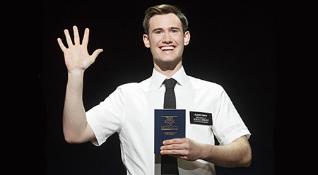 The Book of Mormon Ryan Bondy - photo by Joan Marcus