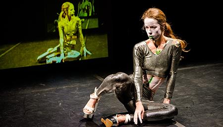 Atlanta Eke, Body of Work, 2014 Keir Choreographic Award - photo by Gregory Lorenzutti