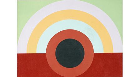 James Doolin, Artificial landscape 67/5 1967 (detail)