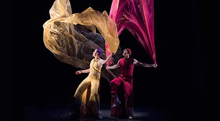 Christina Gelsone and Seth Bloom feature in Air Play - photo by Florence Montmare ©