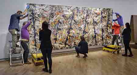 NGA Jackson Pollock Blue poles 1952