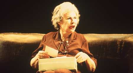 Robyn Nevin in A Cheery Soul, co-produced by STC and Belvoir St Theatre 2000 - photo by Heidrun Löhr ©