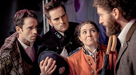Fringe World Adventures of the Improvised Sherlock Holmes