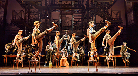 North America Tour of Disney's NEWSIES (Original Company) - photo by Deen van Meer