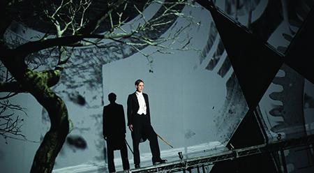 PIAF Ian Bostridge in The Dark Mirror - photo by Hugo Glendinning