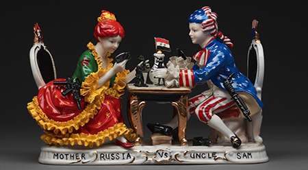 Penny Byrne Mother Russia vs Uncle Sam 2017 - photo by Angela Baily