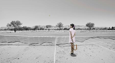 Sunshine Art Prize 2016 Winner, Michael Cook, Mother – Tennis, 2016