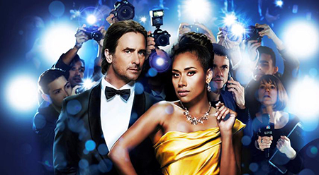 Kip Gamblin and Paulini star in The Bodyguard