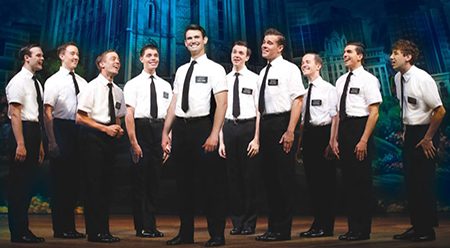 Princess Theatre, Melbourne - The Book of Mormon - photo by Jeff Busby