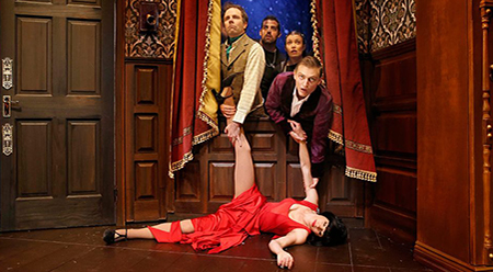 The Play That Goes Wrong - photo by Jeff Busby