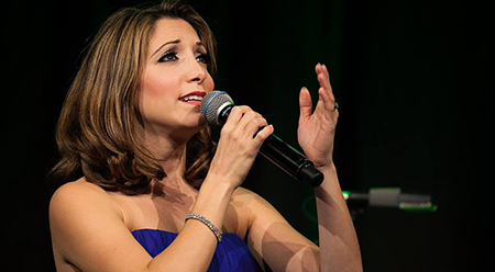 Christina Bianco in Diva Moments - photo by Darren Bell