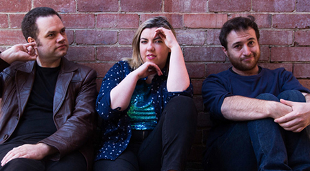 MICF Anthony McCormack, Phoebe O'Brien and Stephen Porter feature in Shut your Juicy Mouth