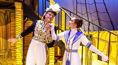 Melbourne Opera H.M.S. Pinafore starring David Gould and Claire Lyon