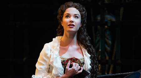 Sierra Boggess as Christine in The Phantom of the Opera by Joan Marcus