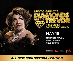 Diamonds are for Trevor Melbourne