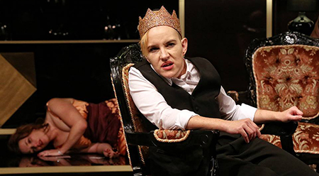 Bell Shakespeare Richard 3 Kate Mulvany - photo by Prue Upton Canberra review