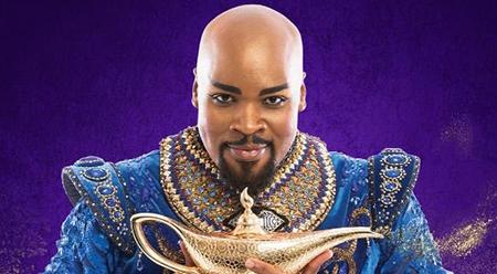 Disney Aladdin Genie Michael James Scott melb editorial