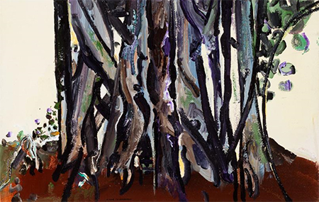 Fred Williams, Antartic Beech Tree Trunks Queensland, 1971