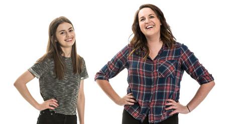 MICF Twins Jess Perkins & Naomi Higgins