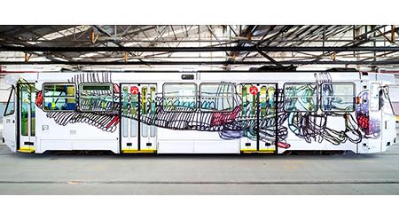 Melb Art Trams, Joceline Lee, tram 270