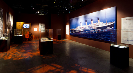 Titanic The Exhibition Installation View