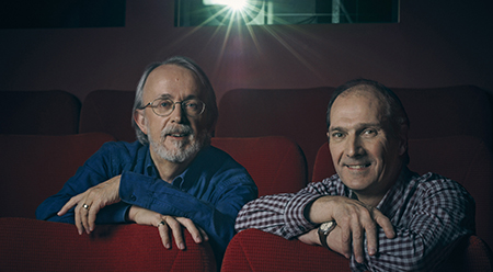 ACMI Peter Lord and David Sproxton - photo by Charlie Gray