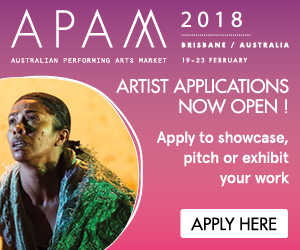 Australian Performing Arts Market 19 - 23 February 2018