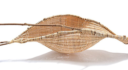 Catriona Pollard Contemporary sculptural basketry