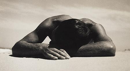 Max Dupain, Sunbaker 1937 (detail) gelatin silver photograph 37.7 x 43.2 cm.