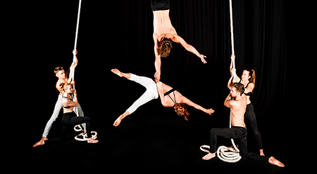 One Fell Swoop Circus - photo by Aaron Walker AC editorial