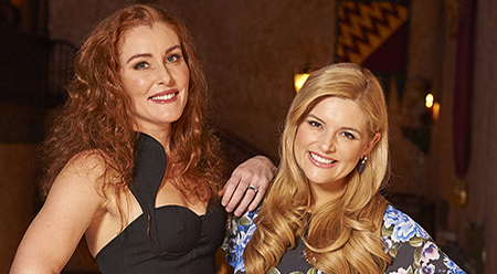 The Wizard of Oz Jemma Rix and Lucy Durack - photo by Brian Geach